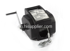 Protable electric winch