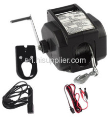 Boat trailer winch with CE