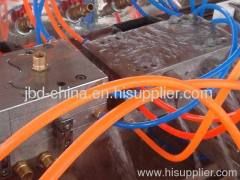 wood plastic making machine