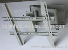 swivel spcc wall mount bracket for led lcd flat panel