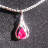 garnet gemstone pendant,925 silver jewelry,gemstone jewelry