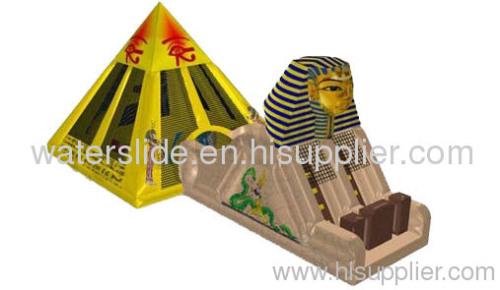 module inflatable combo egypt inflatable slide combo