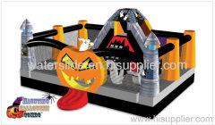 Haunting halloween inflatable combo
