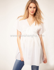 Exclusive Cotton Kaftan Maternity Tunic Tops