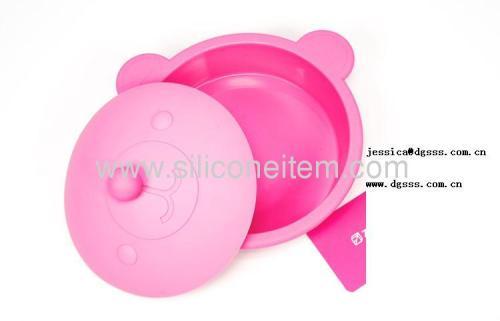 Teddy Bear silicone steamer