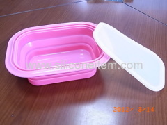 Silicone Fast Food Box