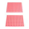 Round fashion silicone shaped ice cube tray