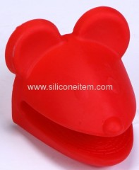 Mouse Shape Silicone Oven Gloves
