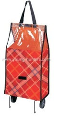 water proof rolling shopping trolley bag