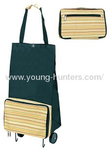 Colourful Shopping Bag With Roller