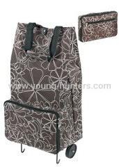 climb stairs folding shopping cart bag