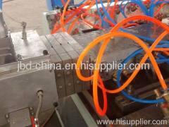 wood-plastic profile production line