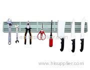 Magnetic tool rack/magnetic tool holder