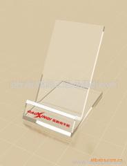 acrylic promotional cellphone dislay