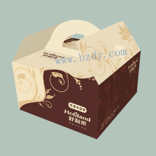 Paper box for goods carrier
