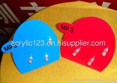 acrylic mp3 display stand