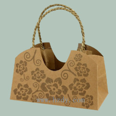 Special shape paper bag