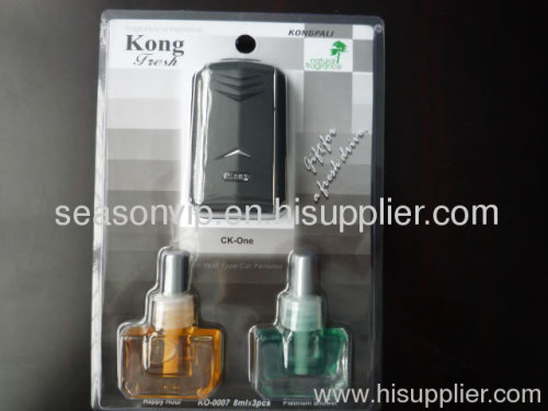 3pcs gift packing KONG oil essential car air freshener