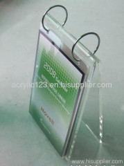 calendar display acrylic holder