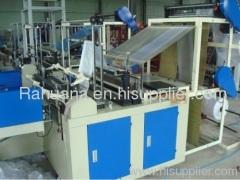 automatic bag making machine shopping bag making machine bag