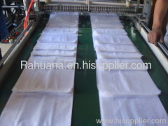 Automatic T-shirt bag making machine shopping bag maker