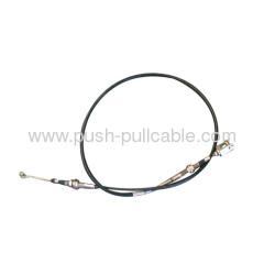 Rotary push-pull lever