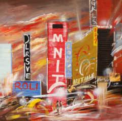 Orginal Building Oil Painting For Sale