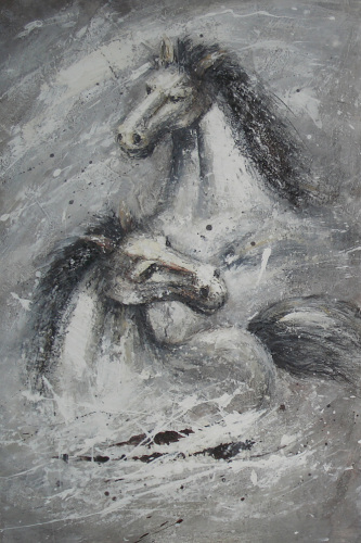 Horse Oil Painting For Sale