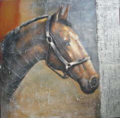 Handmade Animal Oil Paintings On Canvas Art
