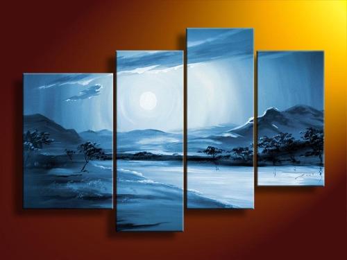 Handmade Sea Landscape Oil Painting