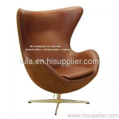 egg chair swivel chair fabric egg leather design furniture