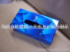 acrylic facial tissue box