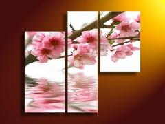 Handpainted Flower Canvas Art