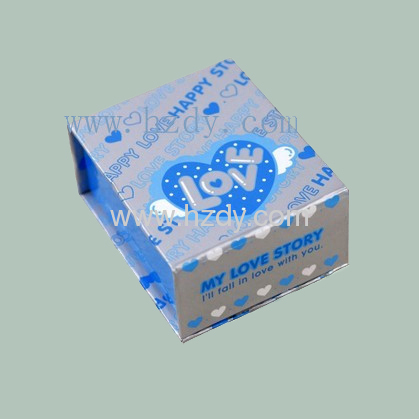 Paper box for MP4