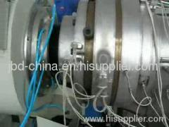 HDPE gas and water supply pipe production line