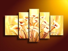 Handmade Flower Oil Painting On Canvas