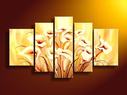 Handmade Flower Oil Painting On Canvas