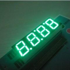Чистый зеленый 4-значный 0,56 дюйма LED дисплей часов