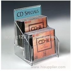 acrylic cd holder stand