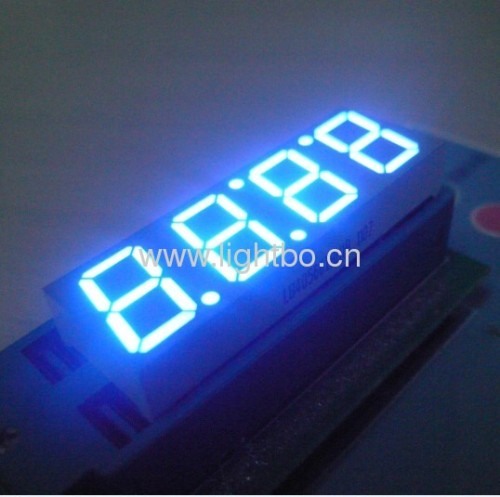 Ultra bright blue 4 digit 0.56 inches LED Clock Display