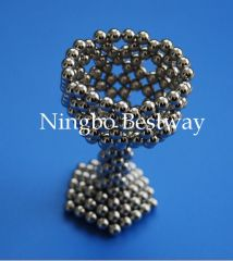 D5mm Rare Earth Magnets Sphere with Ni Coating