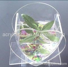 large acrylic flower vase
