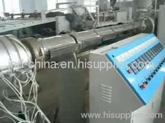HDPE heat preservation pipe production line