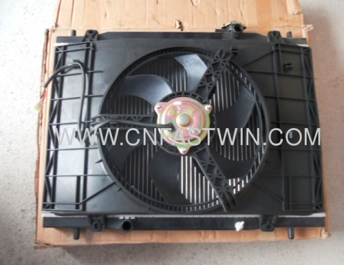 Car Radiator with Fan for China car