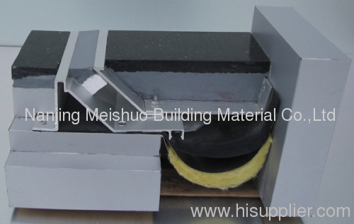 Rubber concrete expansion joint material