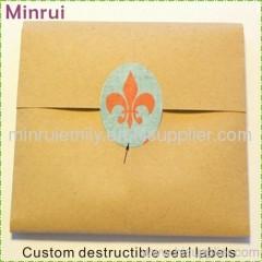 Tamper Evident Seal Label