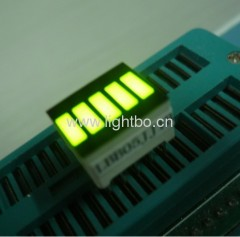 12.7x10.1mm Super Bright Green 5-сегментный LED Light Bar