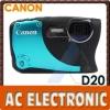 Canon PowerShot D20 IS 12.1MP 5x Optical Zoom Digital Camera