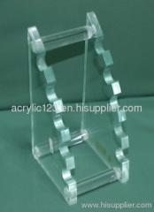 acrylic standing pen holder