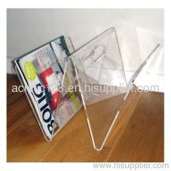acrylic pocket brochure holder